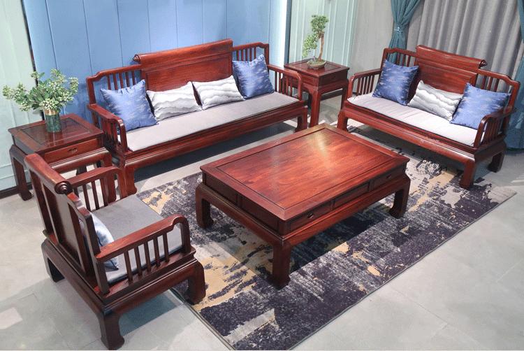 紅酸枝沙發新中式沙發