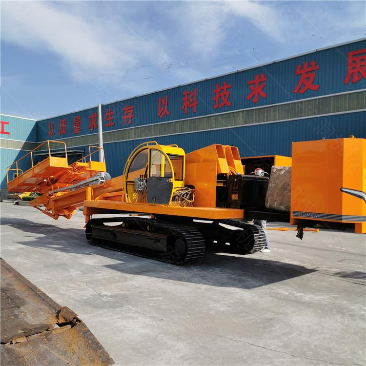 邊坡支護打孔鉆機 新型3-20米基坑錨固鉆機熱銷 護坡樁機